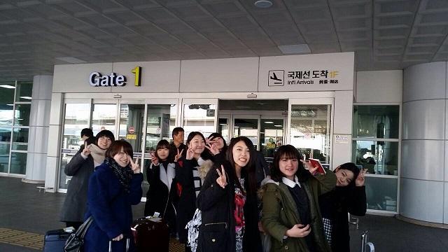 東西大学校語学研修生、釜山に到着 | 大正大学